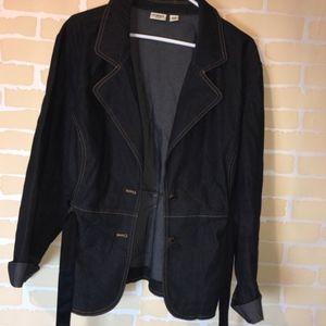 Cato's Blue Jean Jacket size 22/24w
